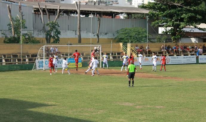 Esse venceu o Vilavelhense por 1 a 0, neste sábado, no Gil Bernardes (Foto: Divulgação/Vilavelhense)