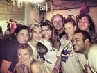 Depois de festa surpresa, ex-BBB Fernanda comemora com Paes Leme