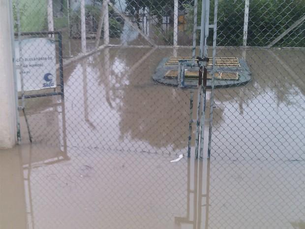 Chuva em guaratinguetá (Foto: Alexandre Paula)