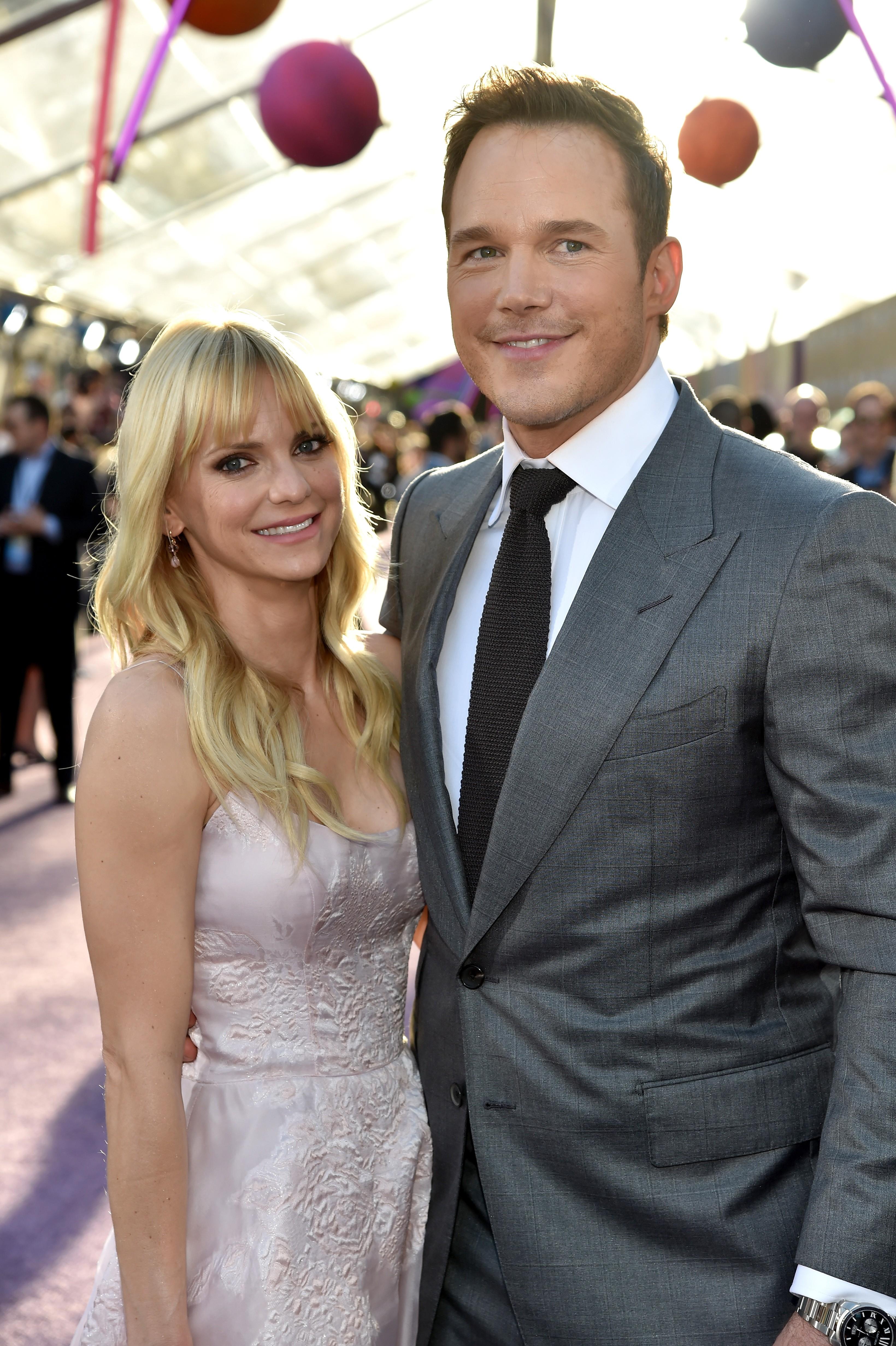 Anna Farris e Chris Pratt (Foto: Getty Images)