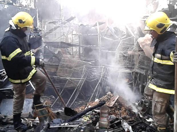 Cerca de 150 animais morrem em incêndio em pet shop, em Goiás, Goiânia (Foto: Bill Guerra/AgMais)