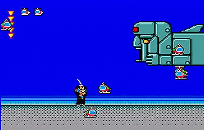 Alex Kidd in Shinobi World foi o último game do personagem (Foto: Reprodução/Sega Blog)