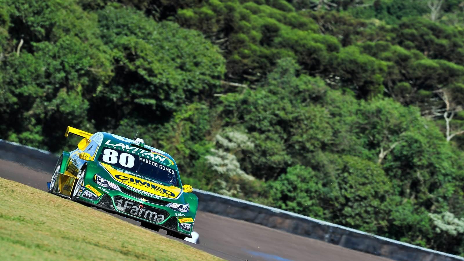 Marcos Gomes da Cimed Racing (Foto: Divulgação/Vicar)