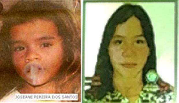 Projeção de envelhecimento mostra como deve estar Joseane Pereira dos Santos, hoje com 23 anos (Foto: Divulgação/Polícia Civil do RN)
