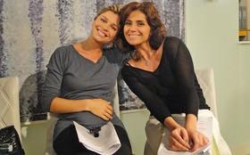 Grazi grava últimas cenas de Lucena no estúdio de Aquele Beijo