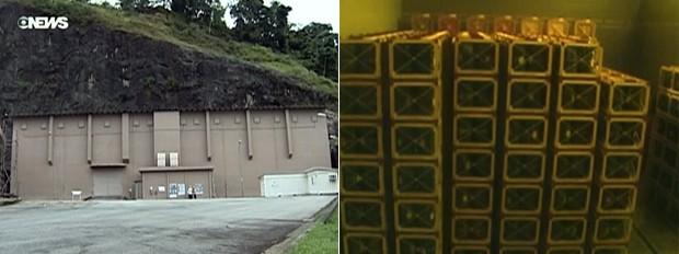 GNews - Cidades e Soluções - Depósito de rejeitos nucleares (Foto: Reprodução/GloboNews)
