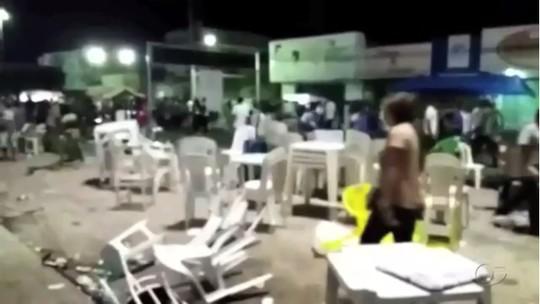 Tiro em festa provoca tumulto e deixa pelo menos 80 feridos em Maribondo