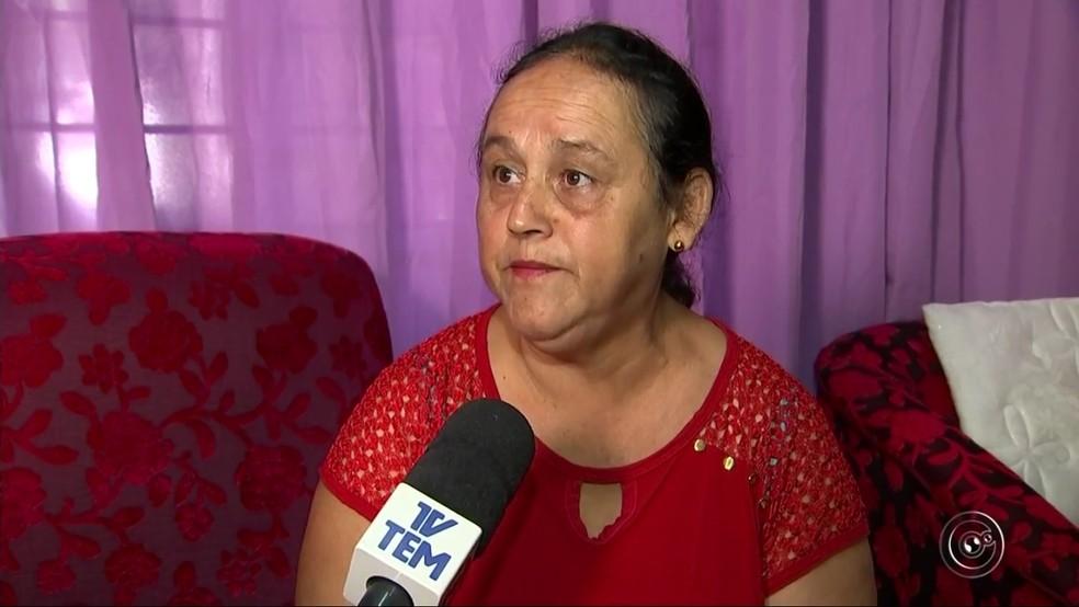 Golpistas pediram mais de R$ 2 mil para dona de casa (Foto: TV TEM/Reprodução)