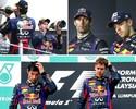 """""""Cachorro velho"""", Webber relembra atritos com """"arrogante"""" Vettel na RBR"""
