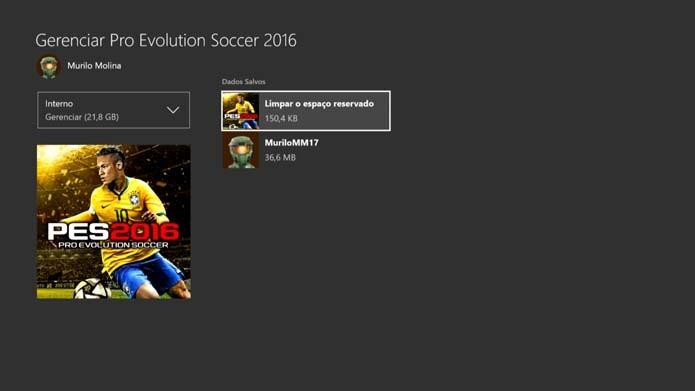 Mantenha saves do Xbox One na nuvem (Foto: Reprodução/Murilo Molina)