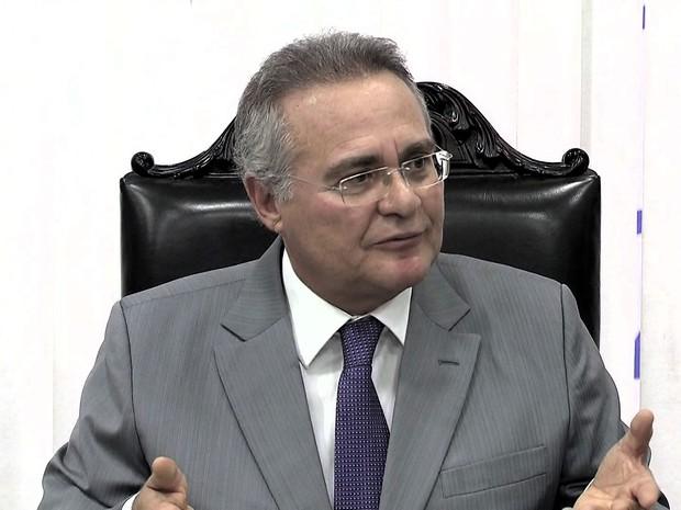 Renan Calheiros JG (Foto: Reprodução: TV Globo)