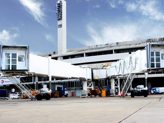 e95ff0695cd1b Novas pontes de embarque no Aeroporto Internacional Tom Jobim (Galeão)  (Foto  Divulgação