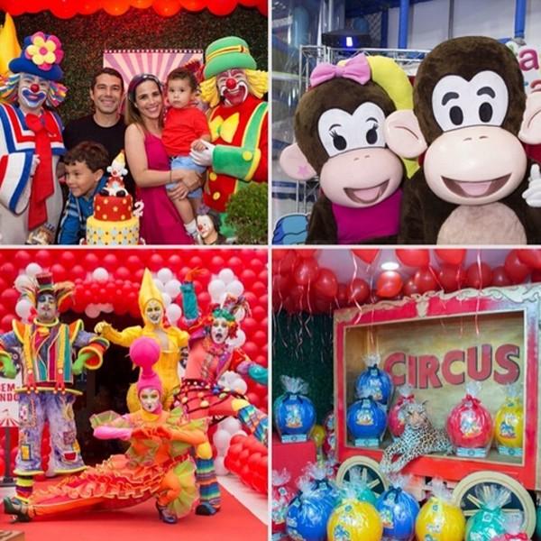 O tema da festa foi o circo (Foto: Reprodução / Instagram)