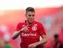 Autor do gol da vitória, Aylon espera receber mais oportunidades no Inter