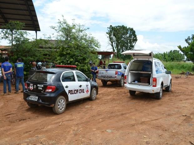 Homem foi morto enquanto aguardava almoço em lanchonete de Ariquemes, RO (Foto: Eliete Marques/G1)