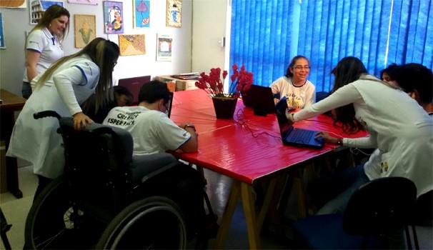 Criada há 27 anos Adefip atua com atividades multidisciplinares (Foto: Marcela Rocha)