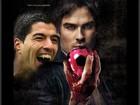 Ian Somerhalder brinca com mordida dada por Suárez em jogo da Copa