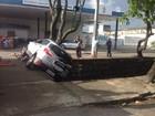 Motorista colide contra carro, tenta fugir e cai no Riacho do Sapo, em AL