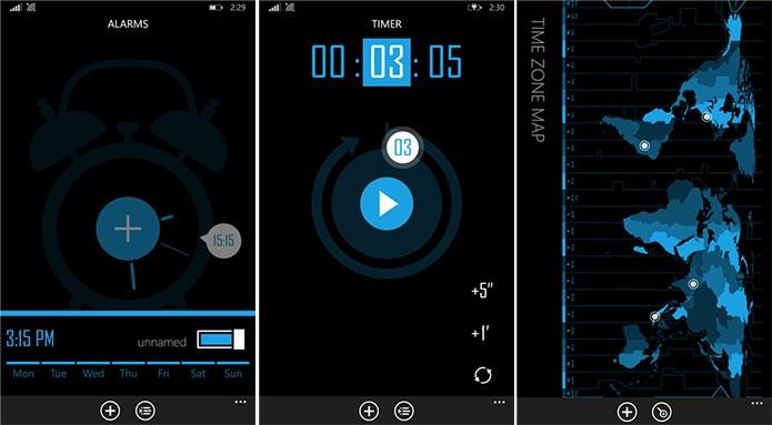 Perfect Timekit é um aplicativo para quem deseja fazer contagem regressiva, conferir hora mundial e outras funções (Foto: Divulgação/Windows Phone Store)