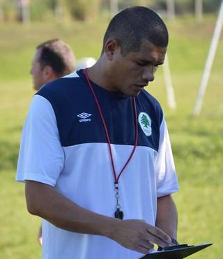 Regis, novo técnico do Boavista (Foto: Marcos Farias Melo)