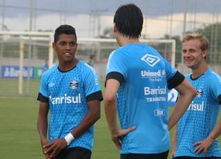 PEdro Rocha Grêmio treino (Foto: Eduardo Deconto/GloboEsporte.com)