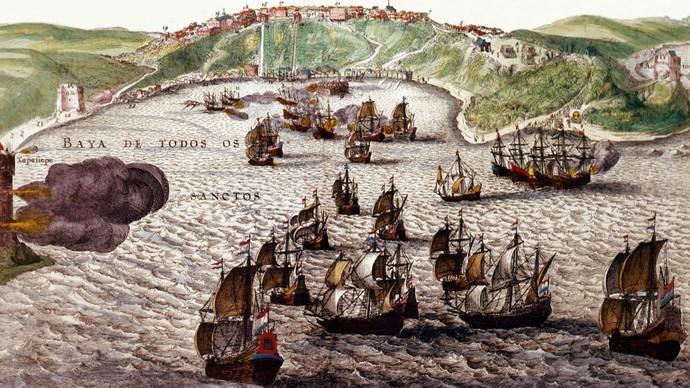 Estreia da série Salvador em Cinco Séculos mostra fatos históricos da fundação da cidade (Foto: TV Bahia)