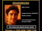 Australiano desaparecido é visto em imagens de câmera de prédio no Rio