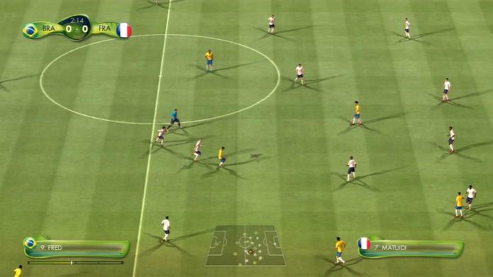 Brasil X França (Foto: Reprodução / TechTudo)