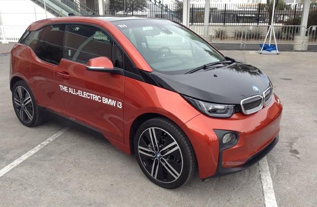 BMW i3 é carro elétrico e conectado que custa mais de US$ 41 mil (Foto: Gustavo Petró/G1)
