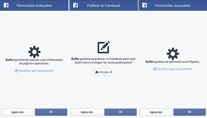 Buffer pode fazer um excesso de solicitações e usuário pode escolher quais aceitar (Foto: Reprodução/Elson de Souza)
