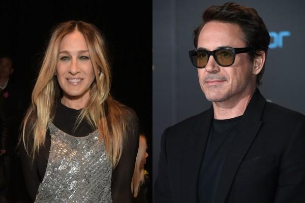 Sarah Jessica Parker e Robert Downey Jr. (Foto: Getty Images)