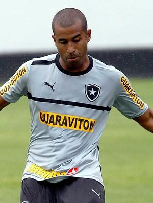 Julio Cesar no treino do Botafogo (Foto: Cezar Loureiro / Agência O Globo)