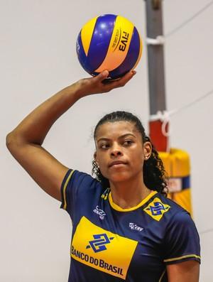 Fernanda Garay, seleção brasileira feminina de vôlei (Foto: Marcelo Régua/Inovafoto/CBV)