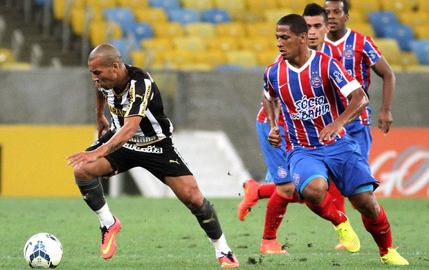 Emerson, Botafogo X Bahia (Foto: Vitor Silva / SSpress)