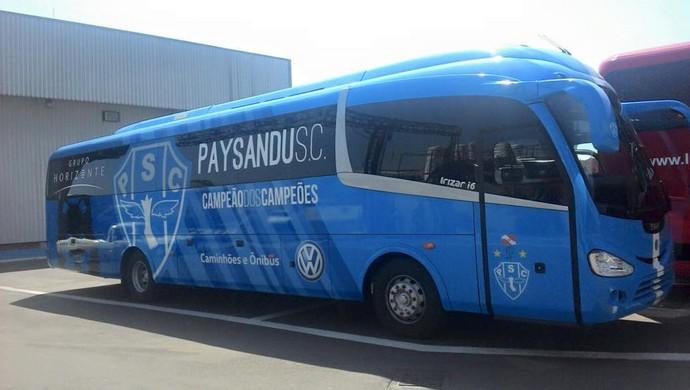 Ônibus  Paysandu (Foto: Ascom Paysandu )