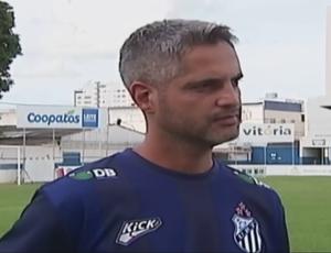 Rodrigo Santana Treinador URT Patos de Minas (Foto: Reprodução/TV Integração)