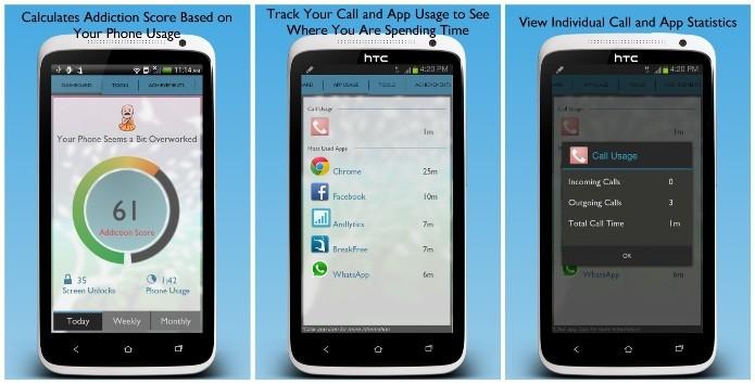 O BreakFree controla o tempo que o usuário usa o smartphone Android (Foto: Divulgação)