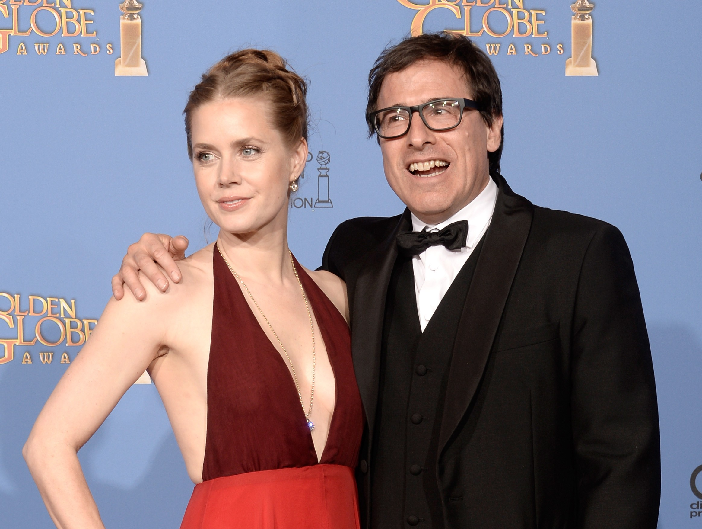 David O. Russell e Amy Adams (Foto: Getty Images)