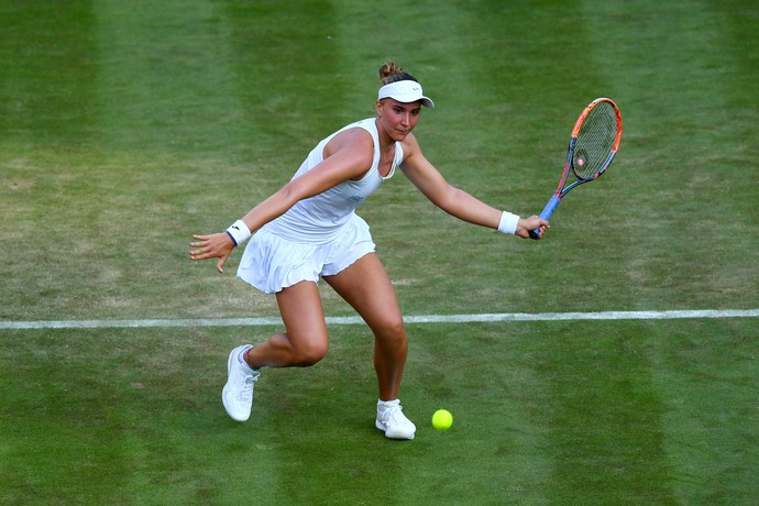Bia Haddad Maia em Wimbledon (Foto: Shaun Botterill / GETTY IMAGES EUROPE / Getty Images/AFP)