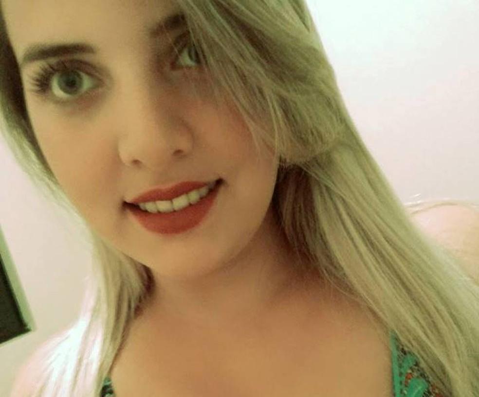 Polícia investiga morte de Maiara Paola Dill  (Foto: Facebook/Reprodução)