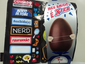 Vereadora considera ofensivo as frases descritas no ovo de páscoa (Foto: André Almeida / Assessor Parlamentar )