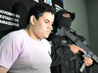 Detento que fugiu de cadeia é recapturado  (Jamile Alves/G1 AM)