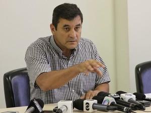Clécio Alves (PMDB), presidente da Câmara de Vereadores de Goiânia  (Foto: Adriano Zago/G1)