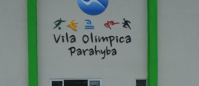 Ricardo Coutinho, Vila Olímpica Ronaldo Marinho  (Foto: Pedro Alves / GloboEsporte.com/pb)
