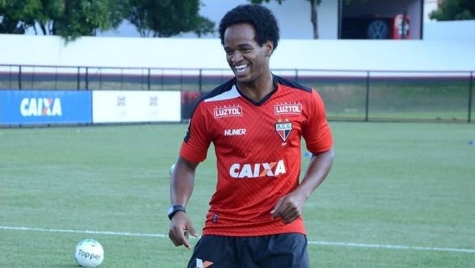Magno Cruz - meia do Atlético-GO (Foto: Divulgação / Atlético-GO)