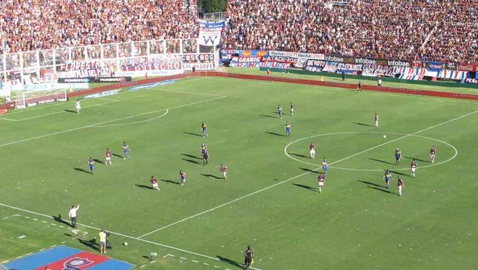 estilo de jogo boca juniors x san lorenzo (Foto: Edgard Maciel de Sá / Globoesporte.com)