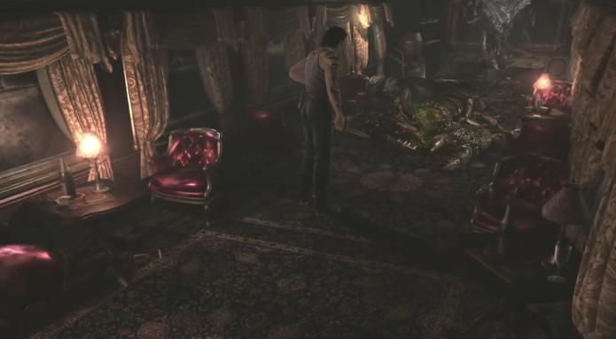 Veja como derrotar o Escorpião Gigante em Resident Evil Zero HD (Foto: Reprodução/Felipe Vinha)