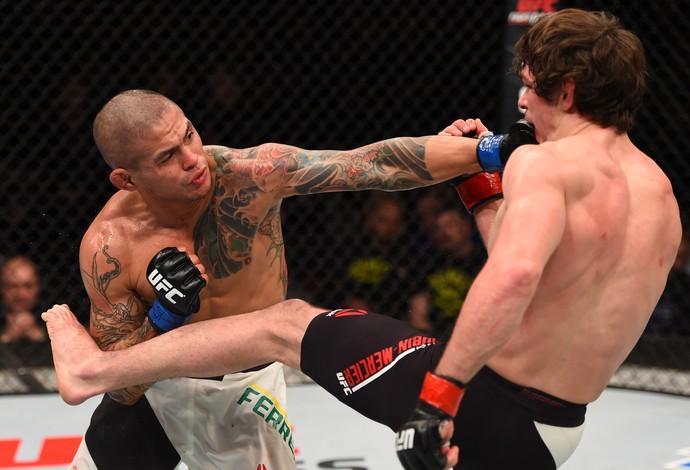 Rafael Natal e Kevin Casey, UFC Johnson x Bader:  (Foto: Getty Images)