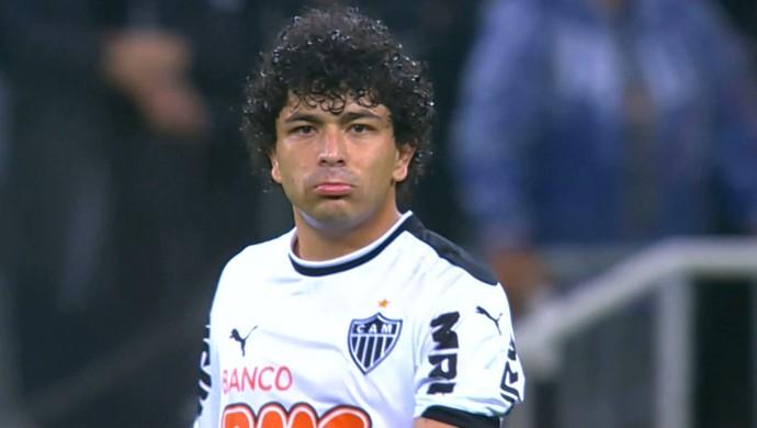 Luan, atacante do atlético-MG (Foto: Reprodução/TV Globo Minas)