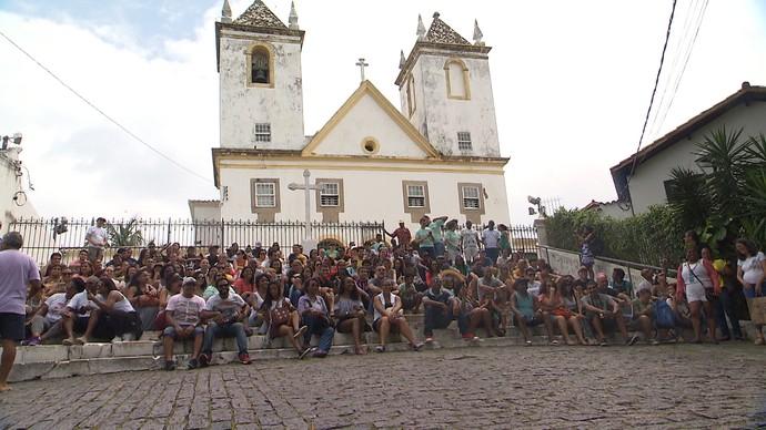 Projeto 'Rolé Brasil' promove passeios por pontos turísticos das cidades (Foto: TV Bahia)